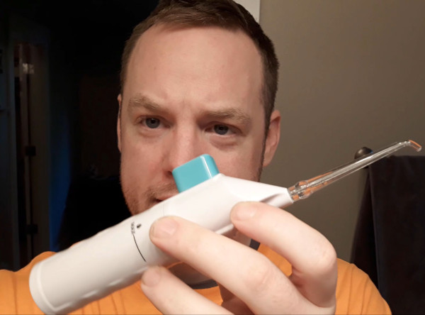 Portable Water Flosser For Tonsil Stones